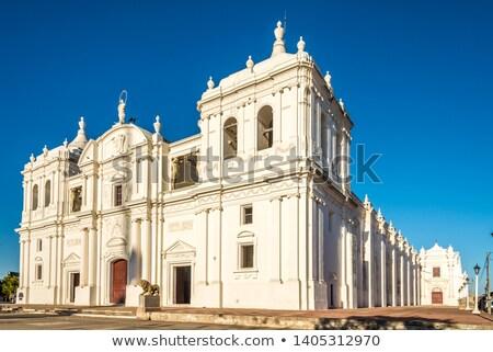 Kathedraal basiliek onderstelling maagd gebouw kerk Stockfoto © benkrut