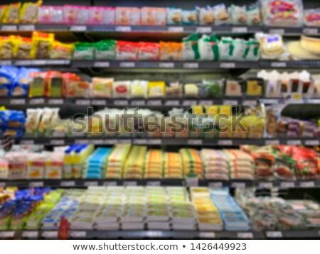 Тофу холодильник супермаркета торговых шельфа Япония Сток-фото © IS2