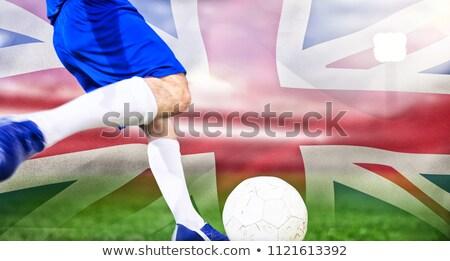 Großbritannien · Flagge · weiß · Hintergrund · Reise · rot - stock foto © wavebreak_media