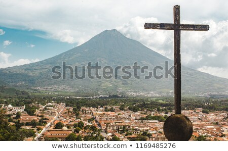 Cerro de la Cruz Antigua Guatemala Stock photo © THP