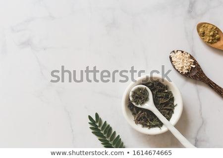 マリファナ · クローズアップ · たばこ · 葉 · 背景 · 緑 - ストックフォト © lirch