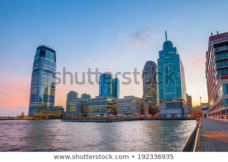 View Of Jersey City With Hudson River Stock photo © AndreyPopov