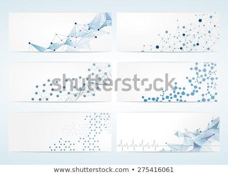 Tudomány vegyész alkotóelem fehér illusztráció absztrakt Stock fotó © colematt