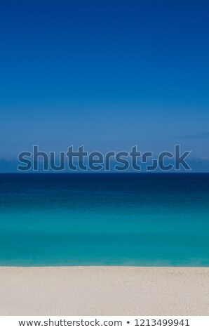 Strand Eindruck Nachmittag Sonne Stock foto © CarmenSteiner