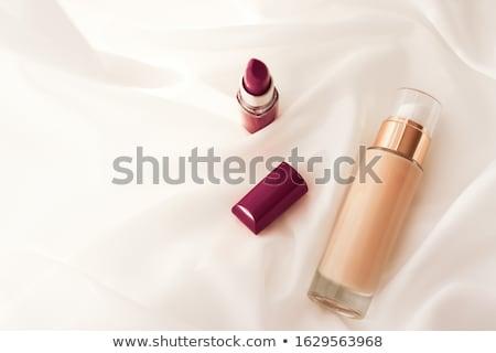 Beige crème bouteille maquillage fluide fondation Photo stock © Anneleven
