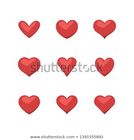 Vektör karikatür romantik sevmek imzalamak Stok fotoğraf © barsrsind