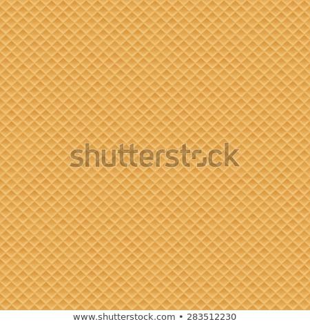 ベクトル シームレス ウエハー 甘い ワッフル テクスチャ ストックフォト © freesoulproduction