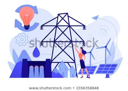 Smart energy system vector concept metaphors. Stock photo © RAStudio