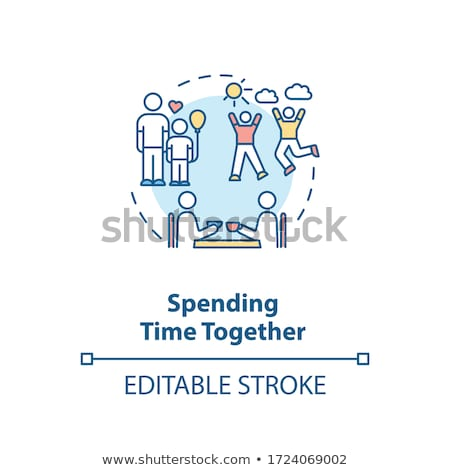 Family time vector concept metaphors. Stock photo © RAStudio