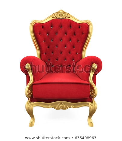 королева сидящий трон иллюстрация женщину смешные Сток-фото © adrenalina