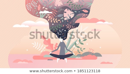 Alternative spiritual practices abstract concept vector illustrations. Stock photo © RAStudio