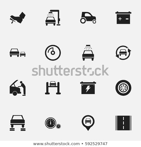 Oto ayar 16 simgeler web simgeleri kullanıcı Stok fotoğraf © ayaxmr