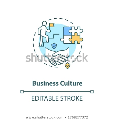 Workplace culture abstract concept vector illustrations. Stock photo © RAStudio