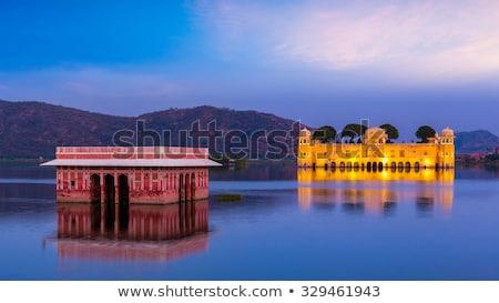 воды дворец Индия ориентир человека озеро Сток-фото © dmitry_rukhlenko