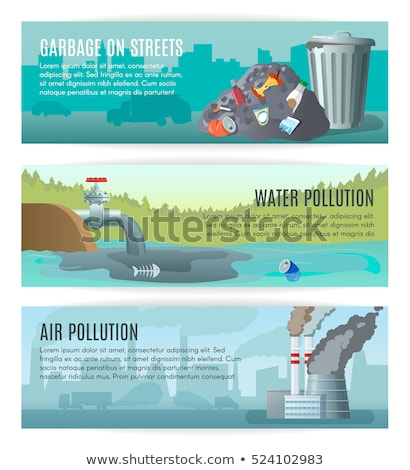 Water pollution abstract concept vector illustration. Stock photo © RAStudio