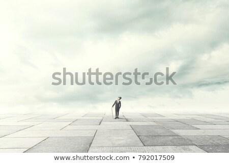 男 · 瞑想 · 水 · 幸せ · 日没 · 自然 - ストックフォト © paha_l