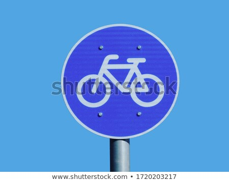 fiets · track · teken · weg · retro · foto - stockfoto © sahua