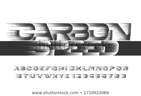 Techno Stil Platz abstrakten Textur Hintergrund Stock foto © studiodg