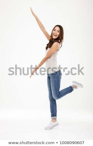asian woman posing Stock photo © smithore