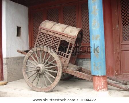 ünlü eski şehir bisiklet seyahat kentsel Stok fotoğraf © bbbar