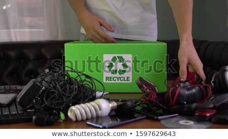Used elektronics Stock photo © leeser