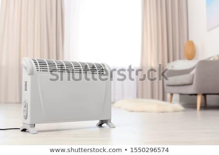 Elétrico aquecedor isolado branco fundo inverno Foto stock © ozaiachin