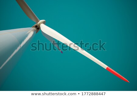 Close up of power mill's propeller Stock photo © AndreyKr