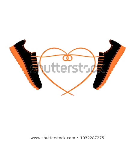Black shoes silhouettes 2 stock photo © lkeskinen