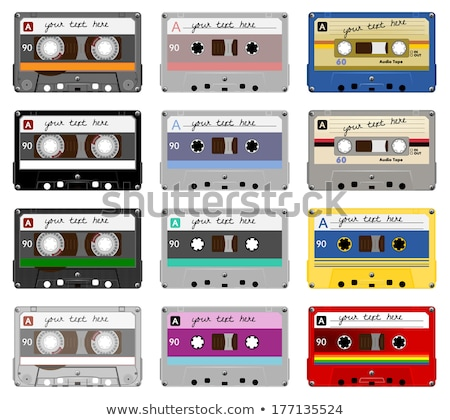 The set of the different vintage electronics stock photo © perysty