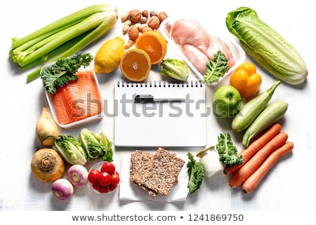 Diet Plan Stock photo © kbuntu