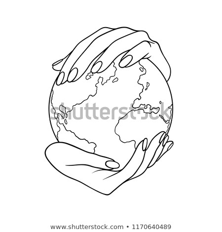 hands holding a like sphere stock photo © kbuntu