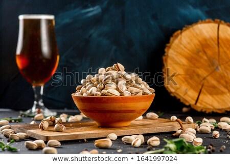 group of pistachio Stock photo © M-studio