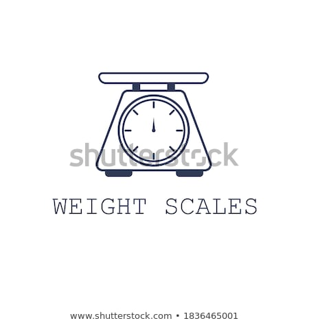 domestic weigh-scales Stock photo © perysty