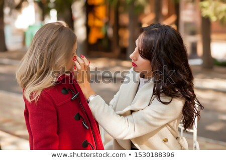 Brunette with mote in the eye Stock photo © photography33