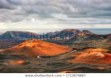 カラフル 溶岩 石 テクスチャ カナリア諸島 自然 ストックフォト © lunamarina