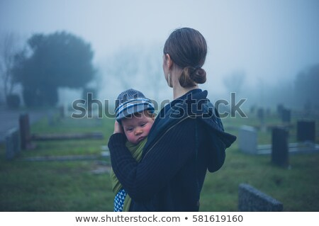Grieving Widower Stock photo © lisafx