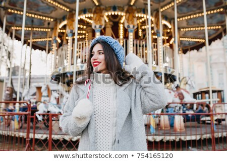 Carousel in the winter Stock photo © suliel