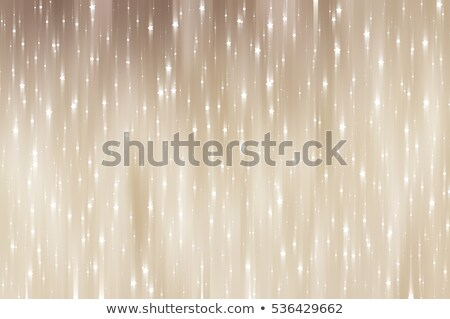 abstract beige background with circles and stars stock photo © marinini