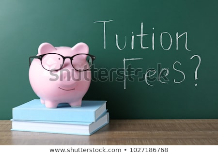 Tuition, written on a blackboard. Stock photo © latent