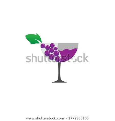 familie · wijngaard · oogst · mooie · jonge · glimlachend - stockfoto © photography33