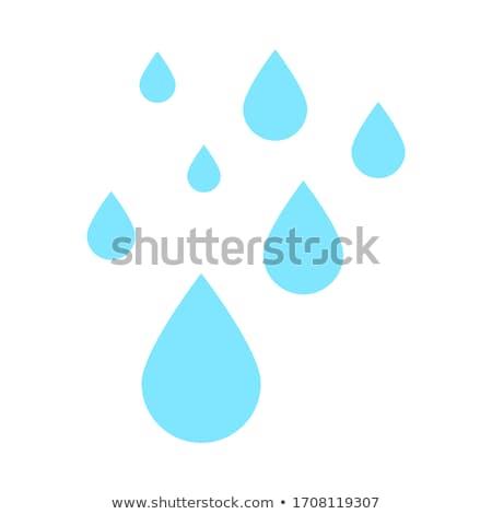 Viele Tränen Karikatur Gesicht weinen Mann Stock foto © blamb