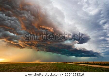 Storm тропический пляж воды пейзаж фон Сток-фото © kornienko