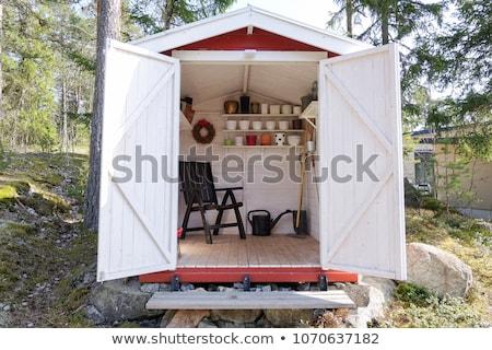 Storage Sheds Stock photo © iTobi