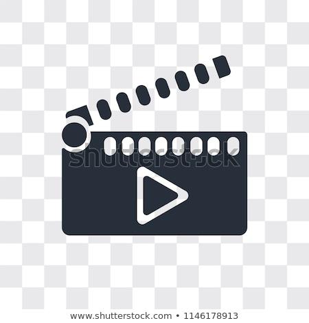 Киноиндустрия · оборудование · изолированный · белый · билета - Сток-фото © upimages