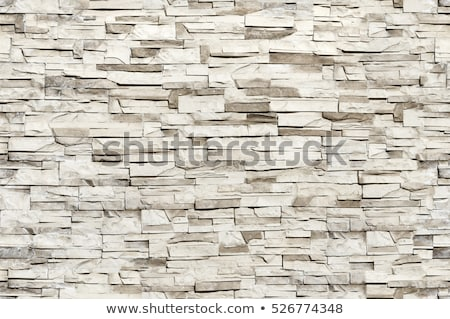 seamless texture of wall from granite blocks stock photo © tashatuvango