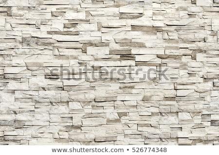 Seamless Texture of Wall from Granite Blocks. Stock photo © tashatuvango