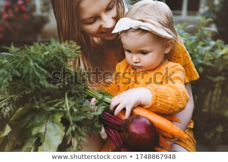 family in food shop Stock photo © Paha_L