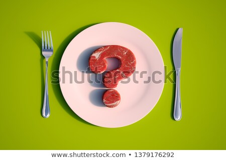 Meat Questions Stock photo © Lightsource