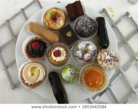 パン · 食品 · チョコレート · 背景 · ケーキ - ストックフォト © m-studio