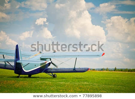 private propeller plane takes off Stock photo © RuslanOmega